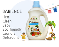 First Clean Baby Eco-friendly Laundry Detergent, Babience