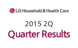 LG Household&Health Care reports  results for 2Q 2015