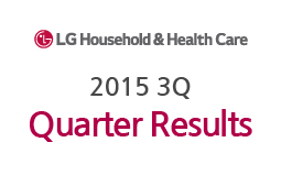 LG Household&Health Care reports results for 3Q 2015