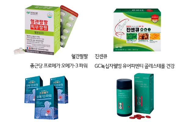 혈관 건강을 도와줄 건강기능식품 4개