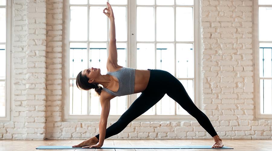 운동하는 모습