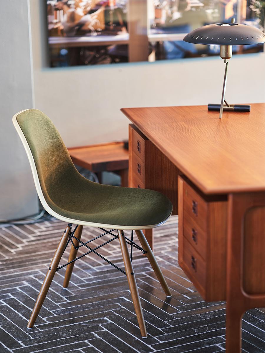 초록색 의자